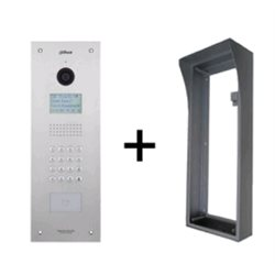 Dahua VTO1210C-X(S) IP intercom buitenpost appartment, 1.3MP CMOS camera incl. opbouw behuizing
