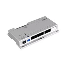 Dahua VTNS1060A PoE Switch voor intercom incl voeding
