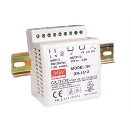 DIN 230V voeding, output 24VDC, 2.0A