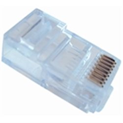 UTP connector - solide kern - 100