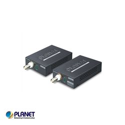 Planet, 1-Port Long Reach POE over COAX Extender Kit (LRP-101CH+LRP-101CE)