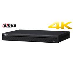 Dahua DH-NVR4208-8P-4KS2 netwerk video recorder, 4K NVR 8 kanalen met PoE