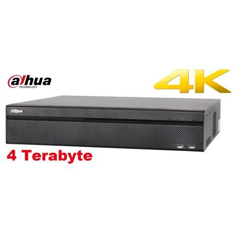 Dahua DH-NVR608-32-4KS2 + 4TB HDD