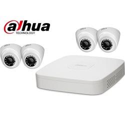 Dahua HCVR7104C-S3 + 4xHDW1200R-S3 Kit