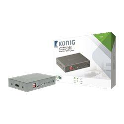 König KNVSP3404 4 Poort HDMI splitter