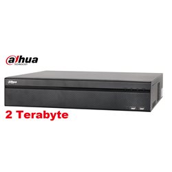 Dahua XVR8816S 64 channel penta brid DVR incl. 2TB HDD