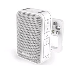 Honeywell Bedrade deurbell, volumeregeling en LED strobe – Wit