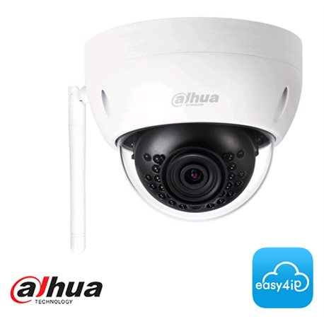 Dahua IPC-HDBW1320E-W 3MP WiFi outdoor minidome met 2,8mm lens en max. 30m IR