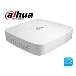 Dahua DH-NVR4108-8P-4KS2 Lite NVR 8 kanalen met PoE