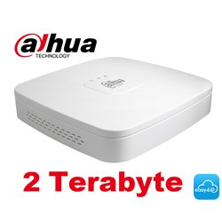 Dahua NVR4108-8P-4KS2/2TB 8 PoE 4K&H.265 Lite Network Video Recorder + 2TB
