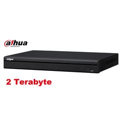 Dahua XVR5108H-4KL 8 Channel Penta-brid 4K Mini 1U Digital Video Recorder 8 PoC incl 2 TB HDD
