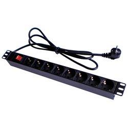 """Dahua DH-PDU 19"""" 8 Outlet Rackmount Power Strip"""