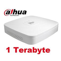 Dahua XVR5104C-4KL-X 4 Channel Penta-brid 4K Smart 1U Digital Video Recorder incl. 1TB