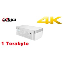 Dahua DH-XVR7104E-4KL-B-X/1TB 4 Channel Penta-brid 4K Elegant 1U Digital Video Recorder