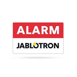 Jablotron Alarmsticker 38 x 23 mm