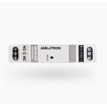 Jablotron RB-524-DIN Universal power relay for DIN rail