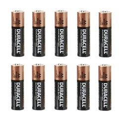 Set van 10 stuks 1,5V AA batterijen