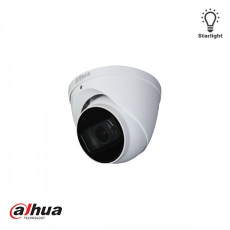 Dahua 5MP Starlight 2.7 - 13.5mm Motorzoom Dome HD-CVI Camera