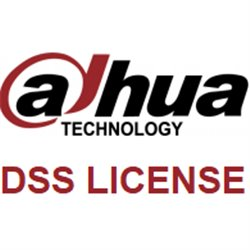Dahua DSS Pro 10 channels extra (256+) camera licentie