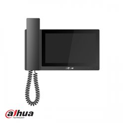 "Dahua 7"" Handset IP Indoor Monitor Zwart"