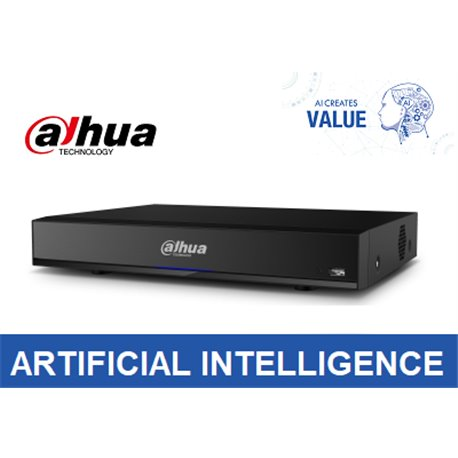 Dahua DHI-NVR4216-16P-I 16Channel 1U 16PoE AI Network Video Recorder