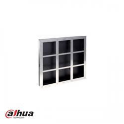 Dahua Stainless front panel for 9 module outdoor station