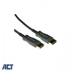 ACT 40 meter HDMI Hybride HDMI-A male - HDMI-A male