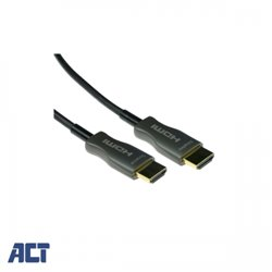 ACT 90 meter HDMI Hybride HDMI-A male - HDMI-A male
