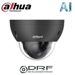 Dahua DH-IPC-HDBW3441RP-ZS (black) 4MP Starlight Lite AI buiten dome camera met 40m IR, varifocale lens, PoE, microSD
