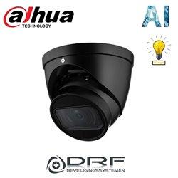 Dahua IPC-HDW3241TP-ZAS-B 2MP Motorized 2.7-13.5mm AI Starlight IR Dome Camera ZWART