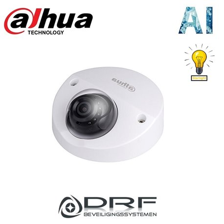Dahua IPC-HDBW3441EP-AS-0280B 2MP Lite AI IR Fixed focal Dome Network Camera2MP Lite AI IR