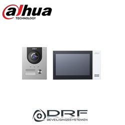 Dahua Intercom kit: VTH2421FW-P, VTO2202F-P en PFS3005-4ET-60